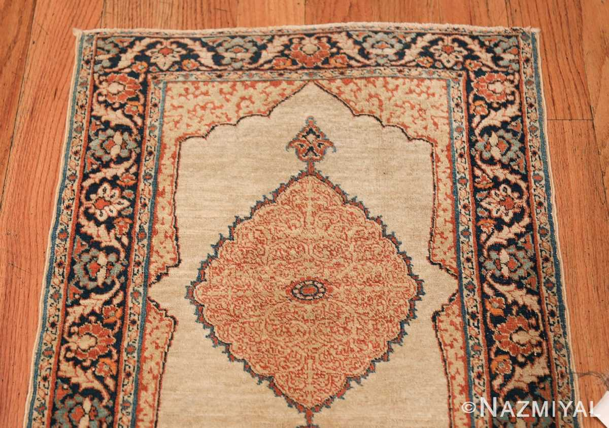Small Antique Persian Tabriz Scatter Size Carpet 47482 Top Design Nazmiyal