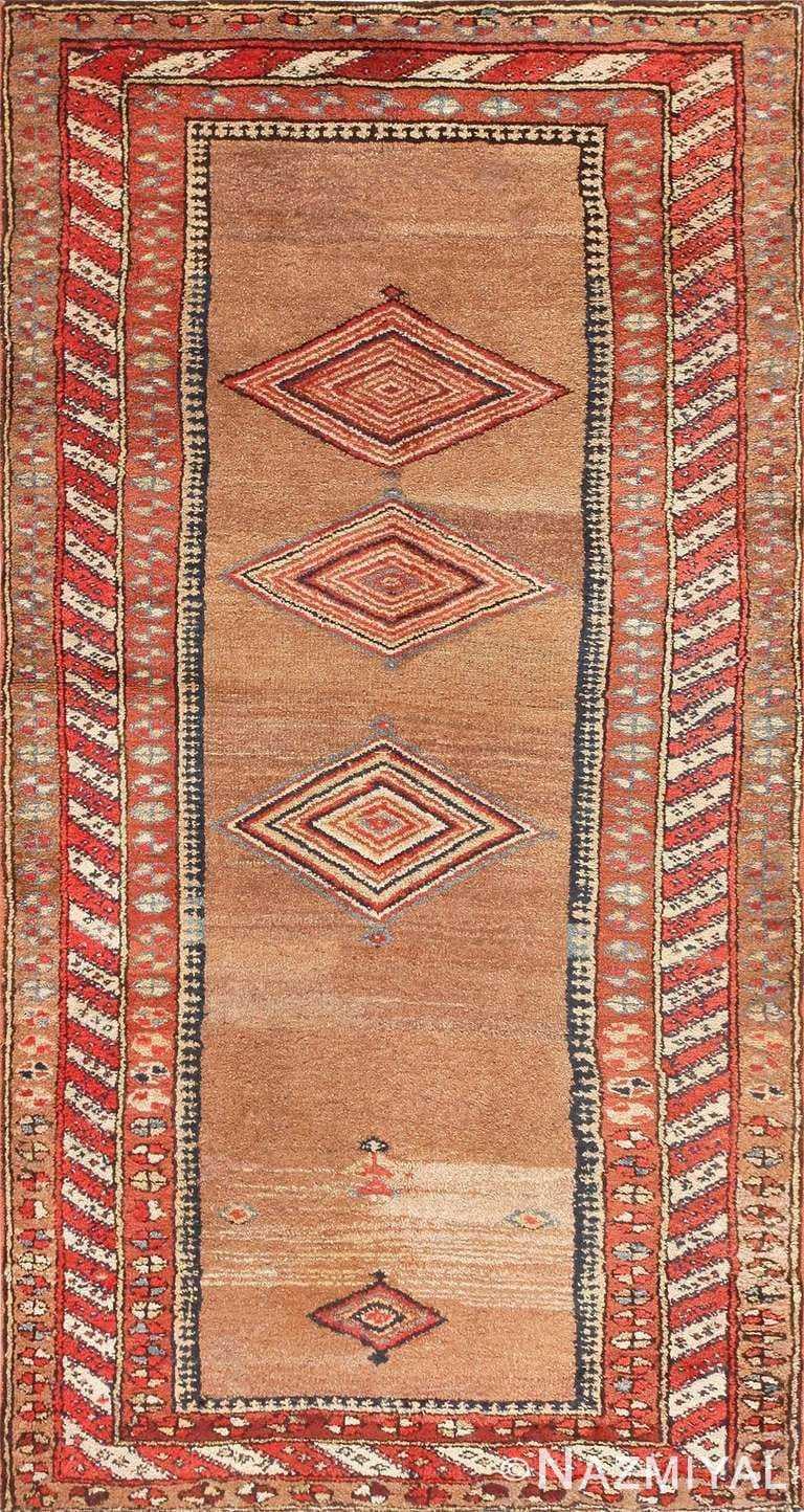 Small Tribal Antique Kurdish Persian Rug 47544 Large Image