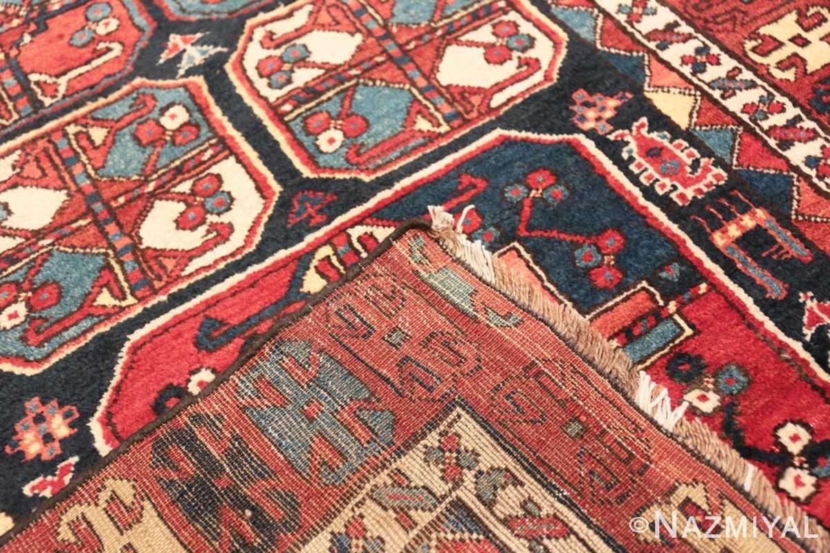 Weave Antique Tribal Kurdish runner rug 47460 by Nazmiyal