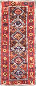 Antique Tribal Turkish Yuruk Rug 47495