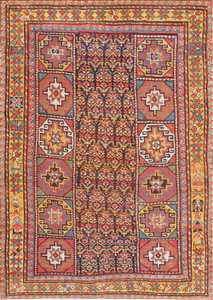 Early Tribal Turkish Konya Rug 47567 Detail/Large View