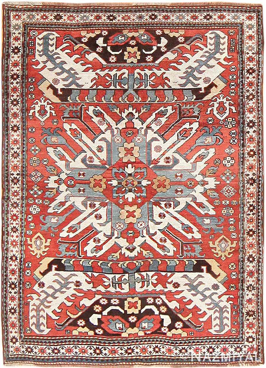 Eagle Kazak Rug 47547 By Nazmiyal