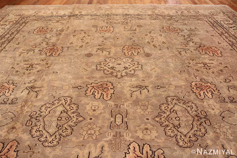 Antique Grey Turkish Oushak Carpet 47365 Top Design Nazmiyal