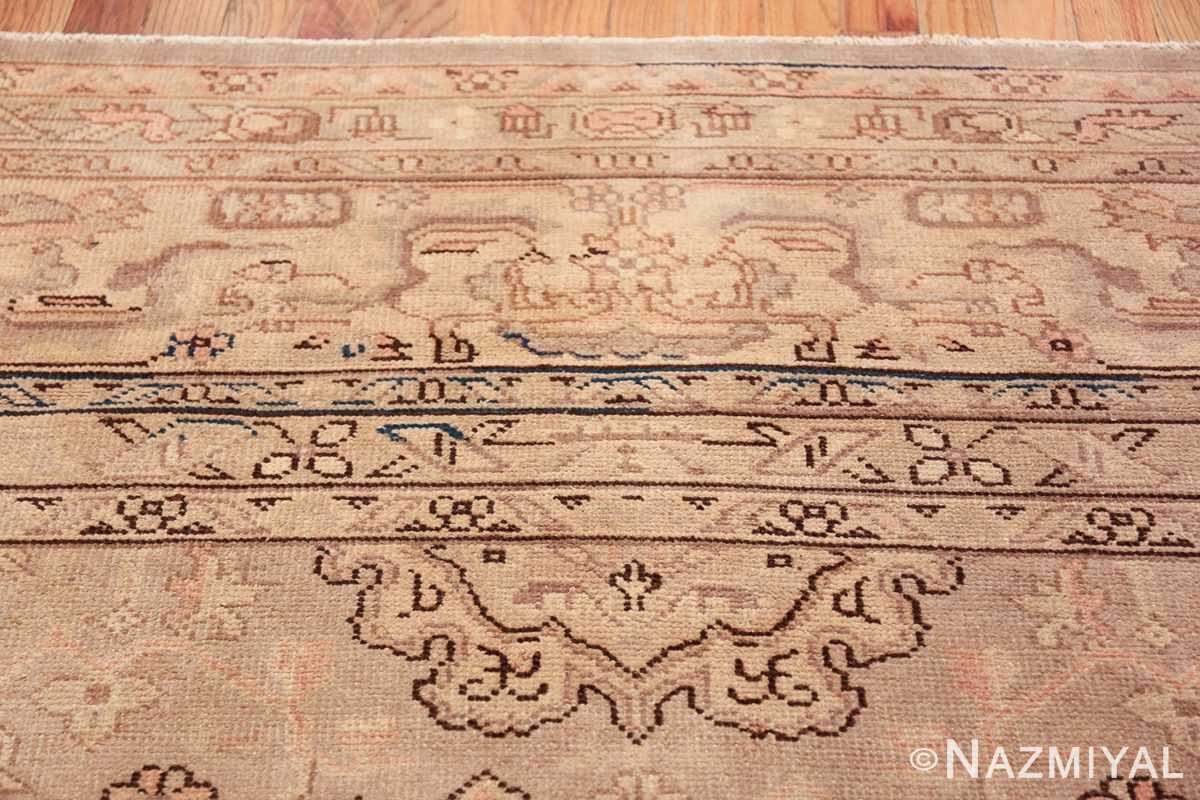 Antique Grey Turkish Oushak Carpet 47365 Upper Decoration Nazmiyal