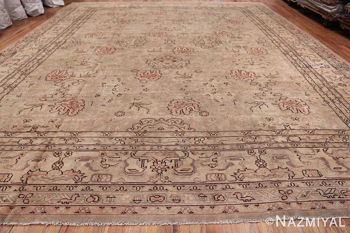 Antique Grey Turkish Oushak Carpet 47365 Whole Design Nazmiyal