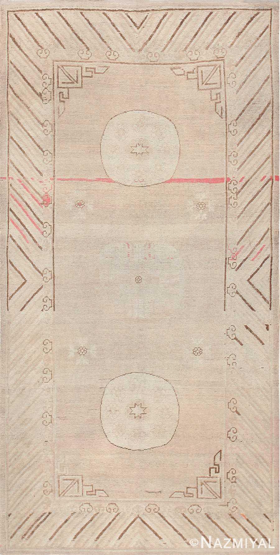 Antique Khotan Carpet East Turkestan 47571 Detail/Large View