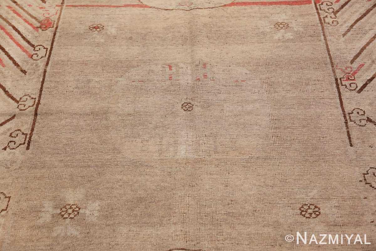 Antique Khotan Rug 47571 Central Medallion Nazmiyal