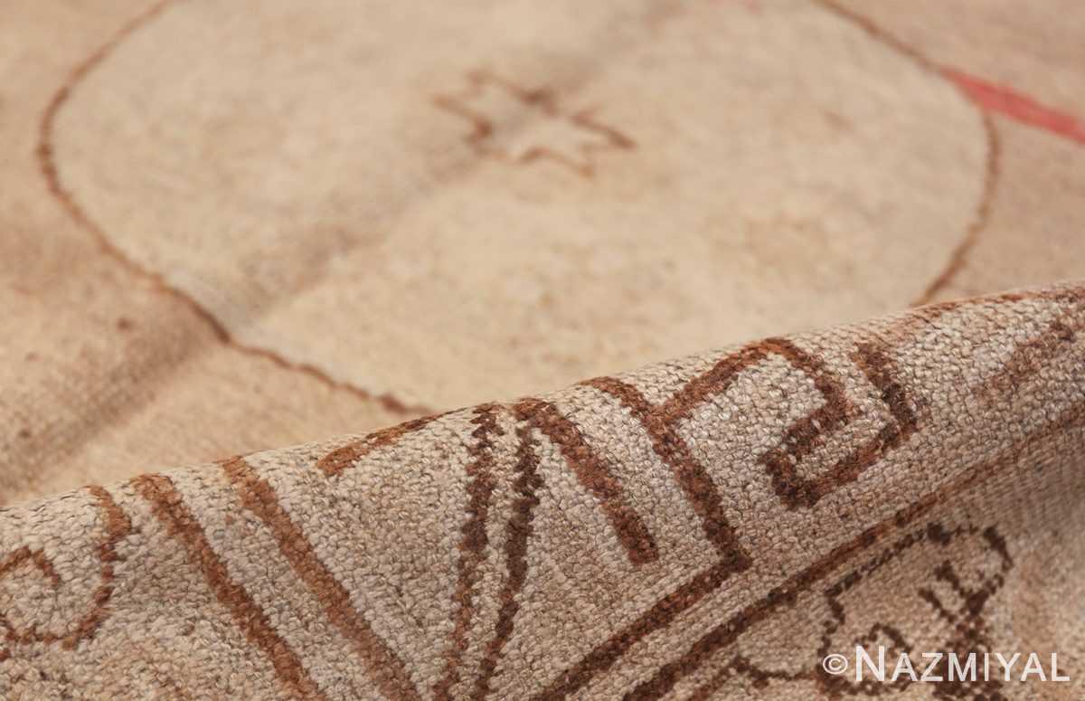 Antique Khotan Rug 47571 Geometric Pile Nazmiyal