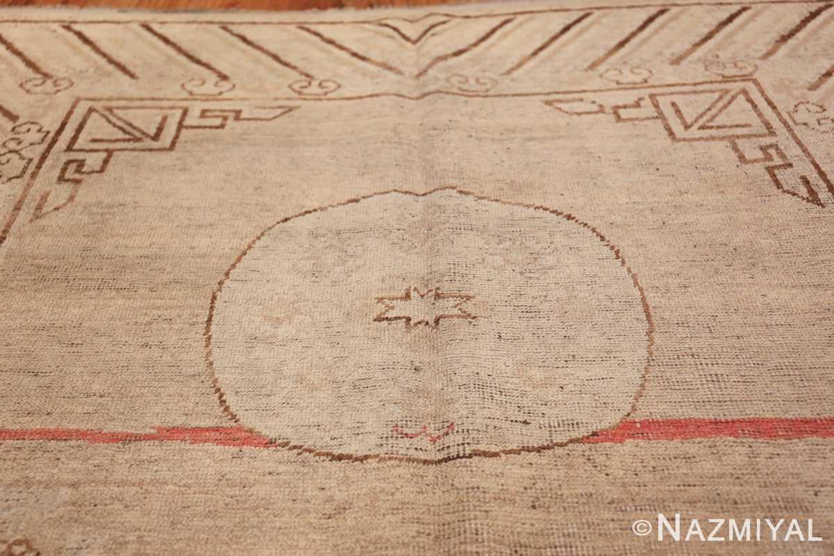 Antique Khotan Rug 47571 Top Circle Nazmiyal