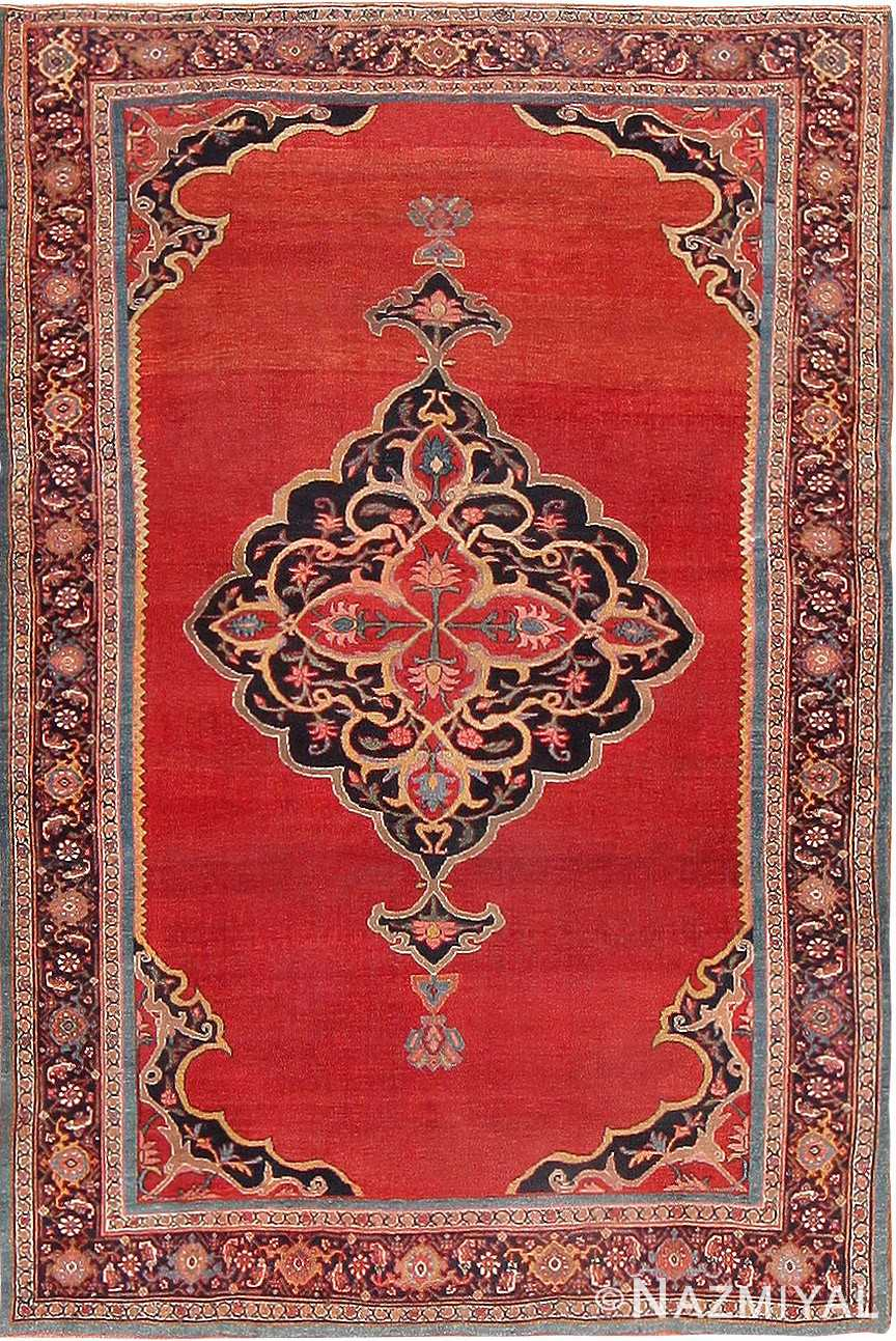 Antique Persian Halvai Bidjar Rug 47489