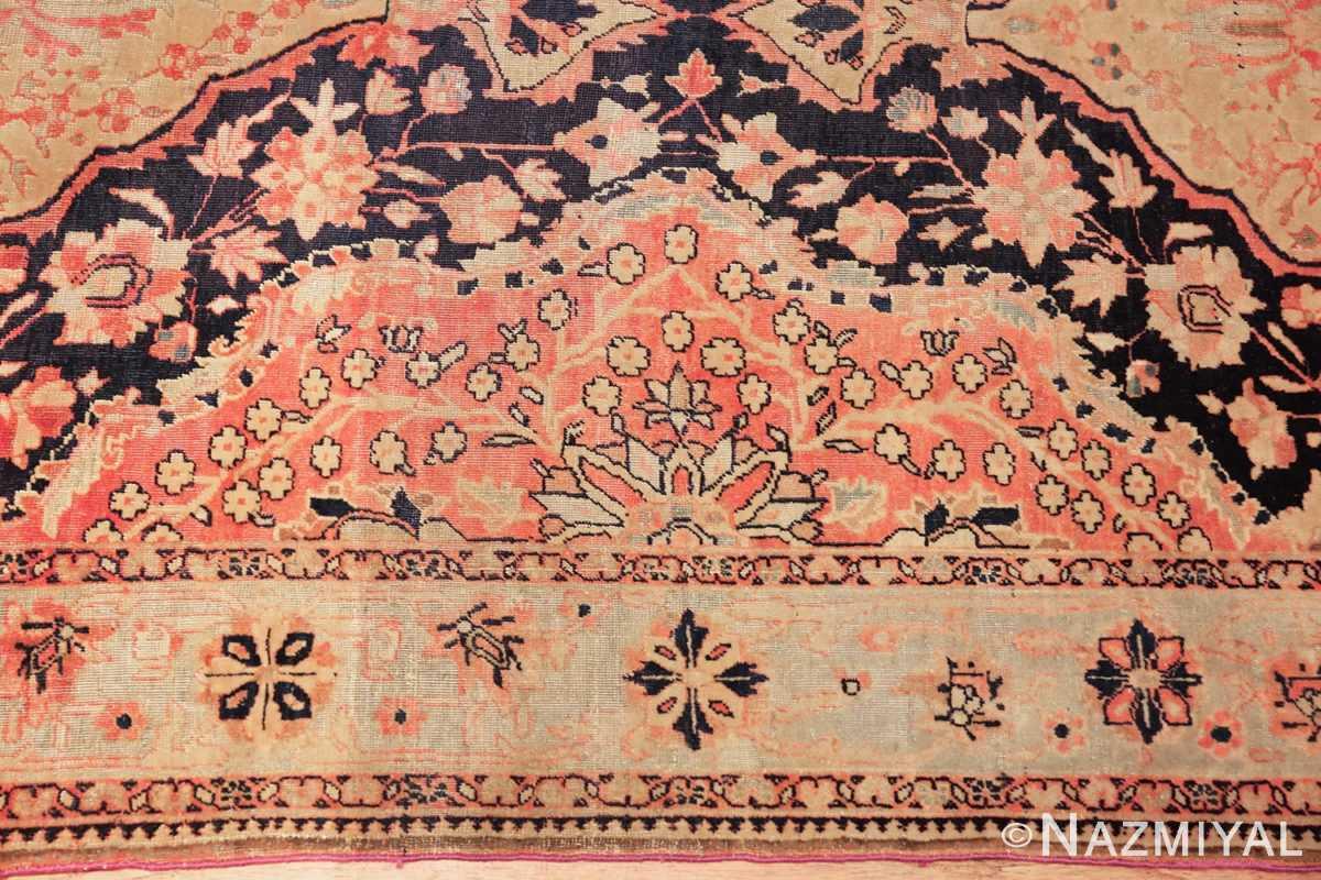 antique persian mohtashem kashan runner rug 47499 border Nazmiyal
