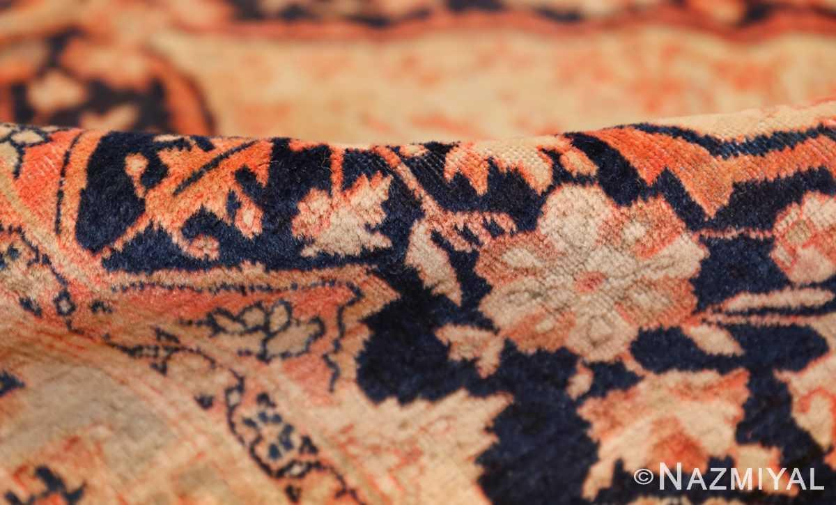 antique persian mohtashem kashan runner rug 47499 pile Nazmiyal