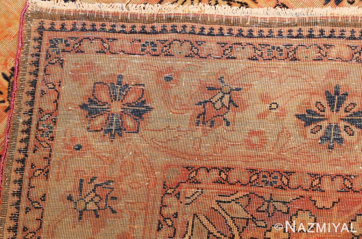 antique persian mohtashem kashan runner rug 47499 weave Nazmiyal