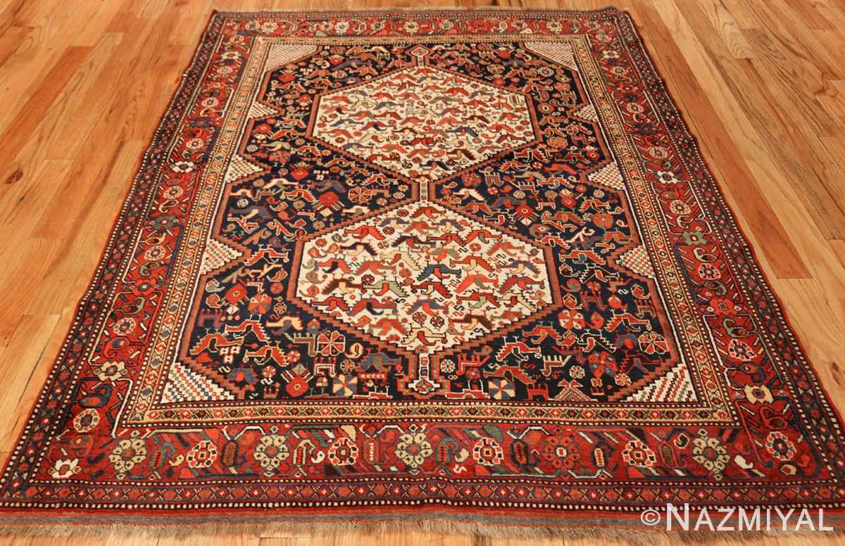 antique persian tribal afshar rug 47569 whole Nazmiyal