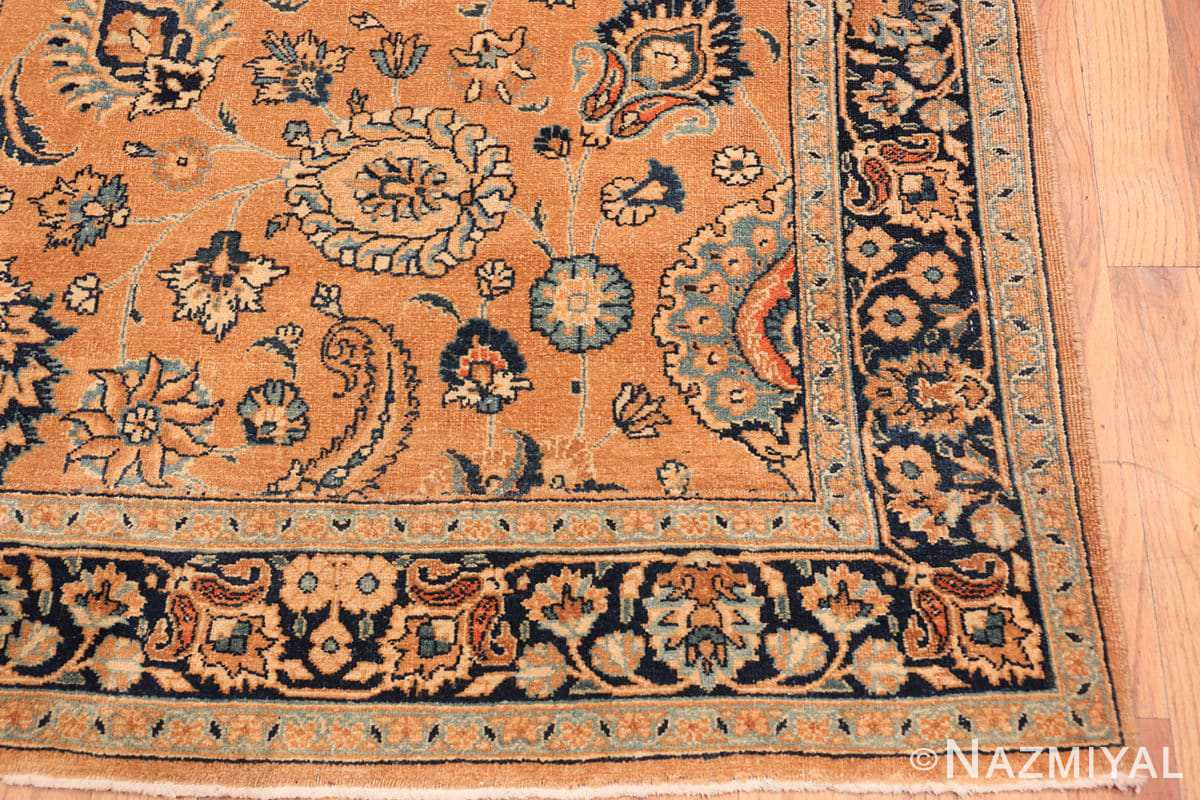 Corner Antique Khorassan long runner rug 47219 by Nazmiyal