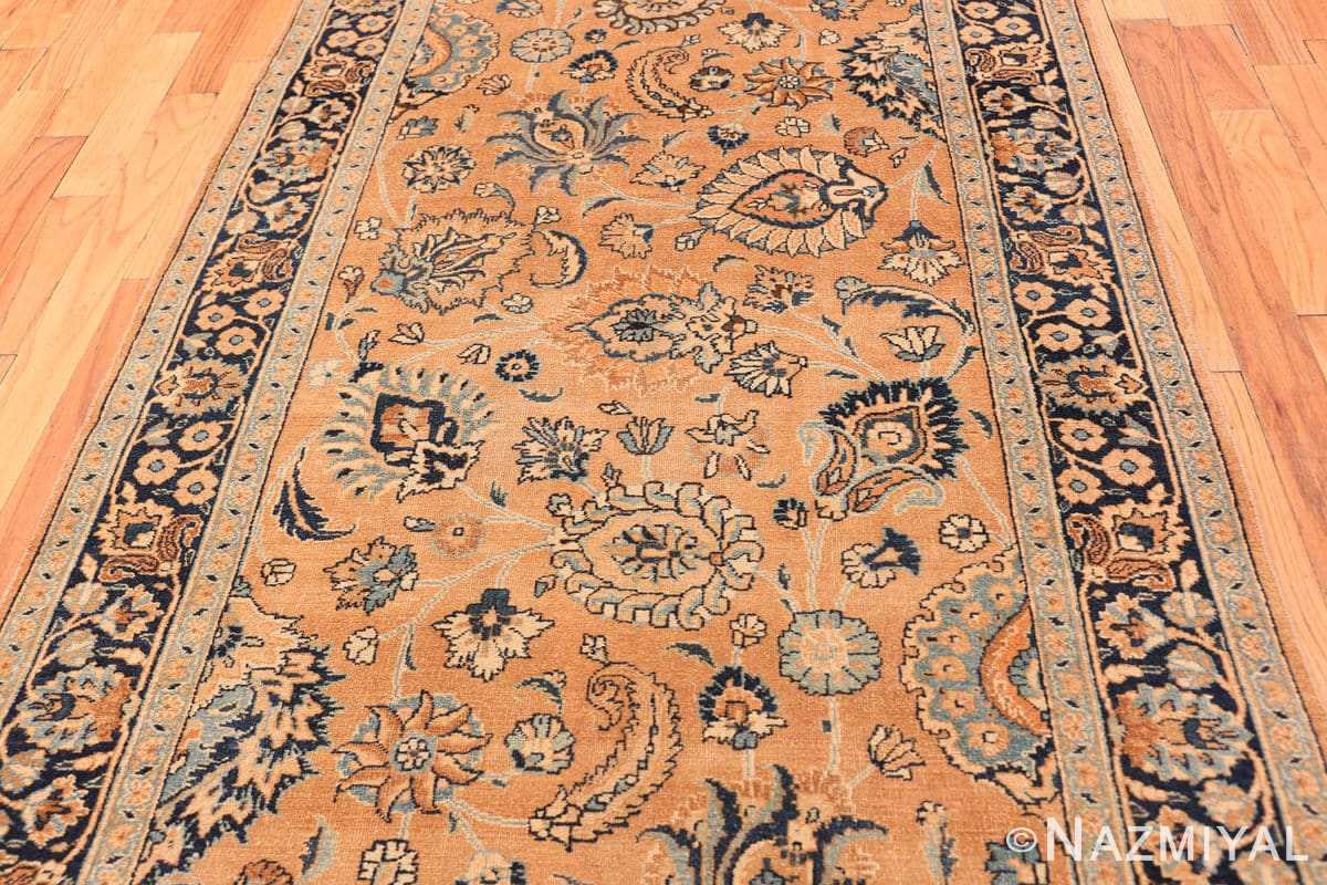 Field Antique Khorassan long runner rug 47219 by Nazmiyal