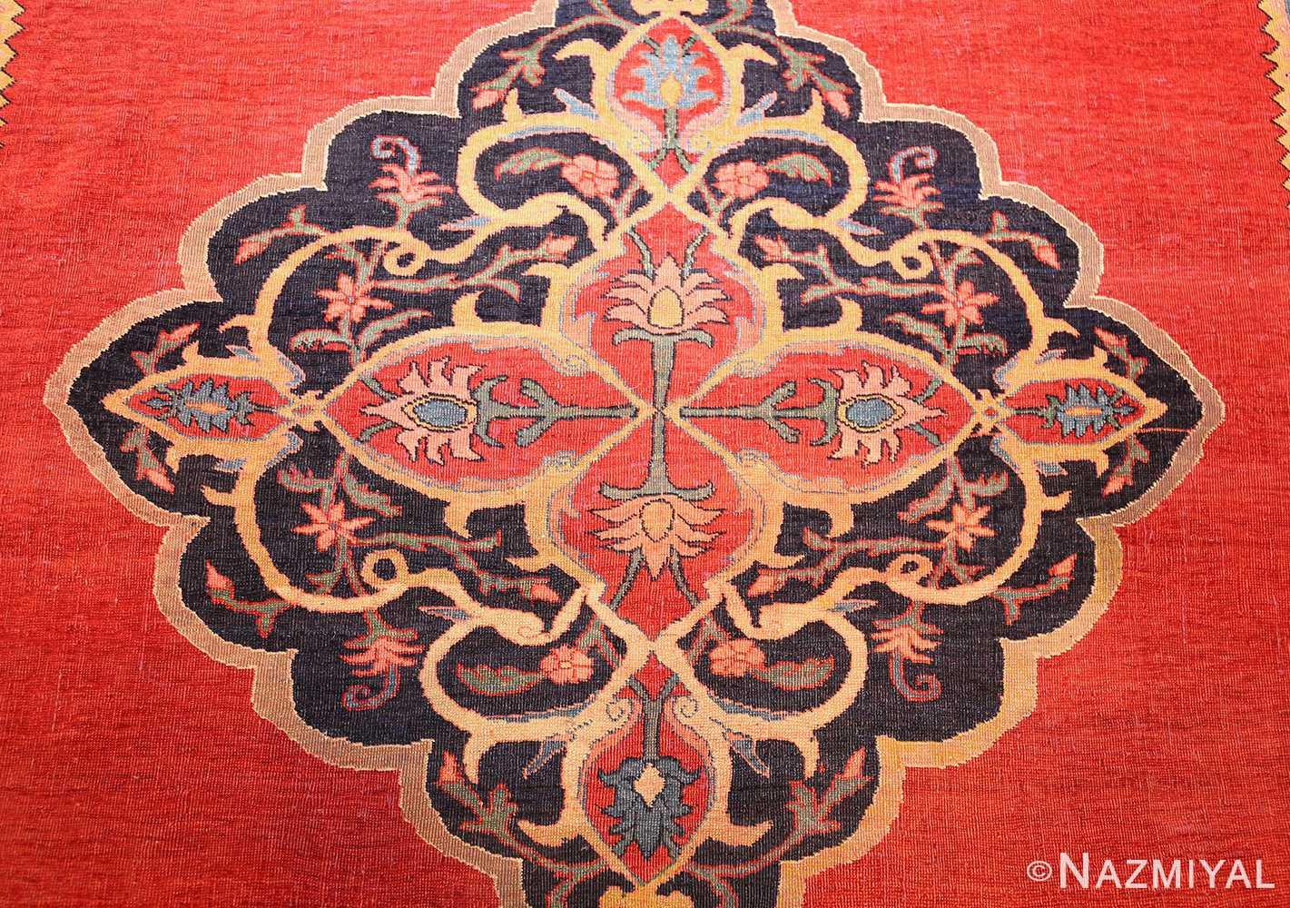 fine antique persian halvai bidjar rug 47489 center Nazmiyal