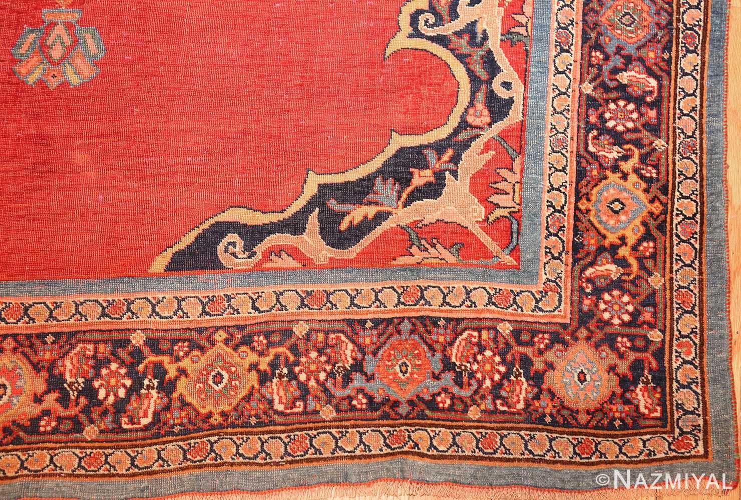 fine antique persian halvai bidjar rug 47489 corner Nazmiyal