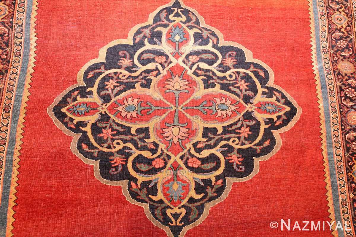 fine antique persian halvai bidjar rug 47489 medallion Nazmiyal