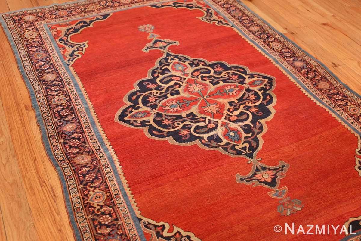 fine antique persian halvai bidjar rug 47489 side Nazmiyal