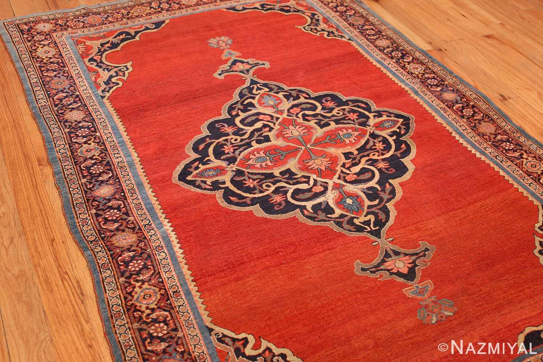 fine antique persian halvai bidjar rug 47489 side Nazmiyal