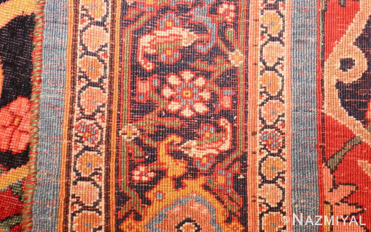 fine antique persian halvai bidjar rug 47489 weave Nazmiyal