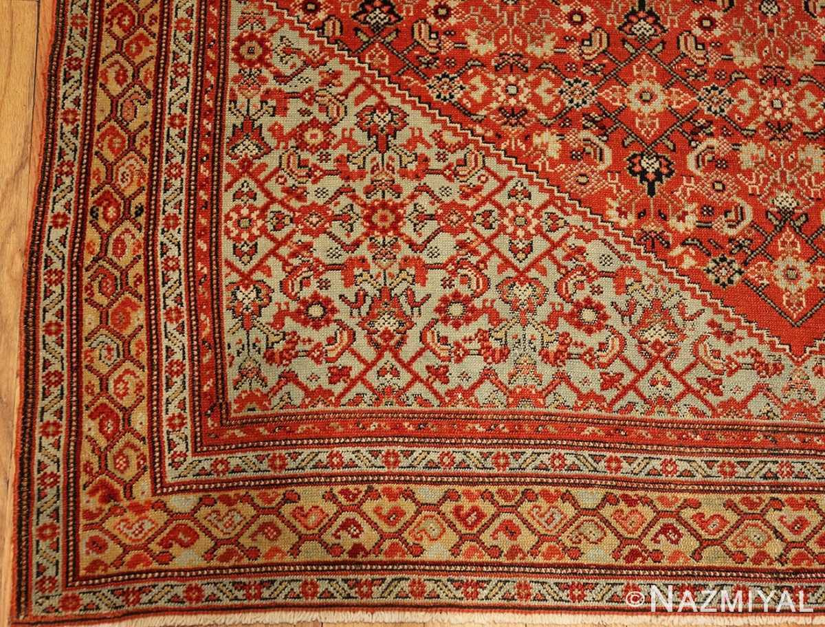 fine antique persian senneh rug 47497 corner Nazmiyal