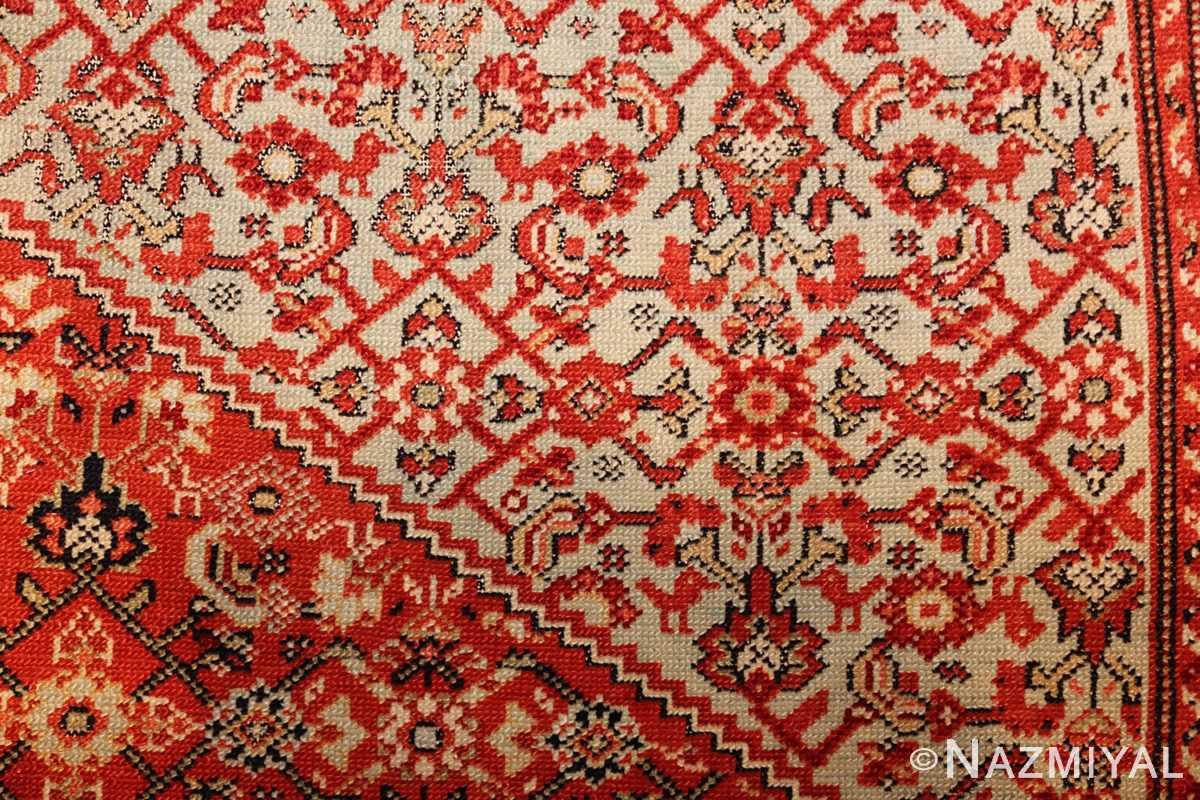 fine antique persian senneh rug 47497 design Nazmiyal