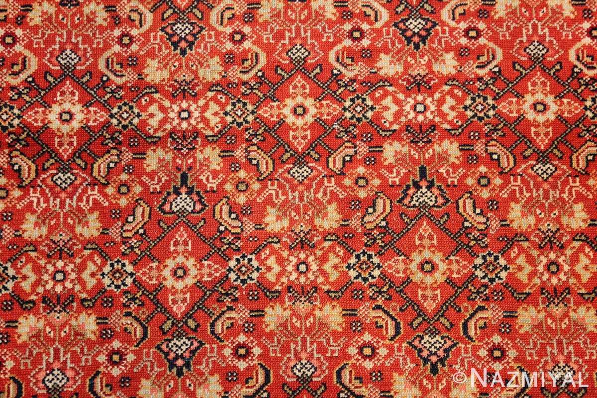 fine antique persian senneh rug 47497 field Nazmiyal