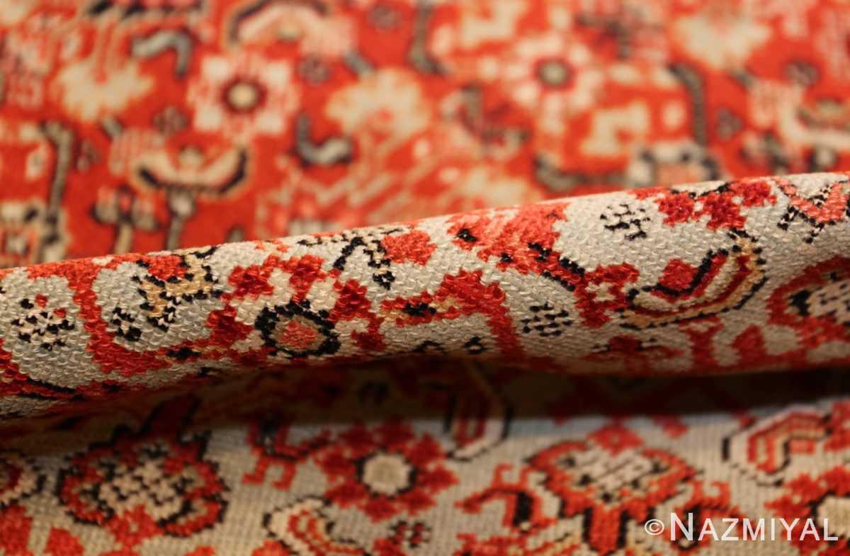 fine antique persian senneh rug 47497 pile Nazmiyal