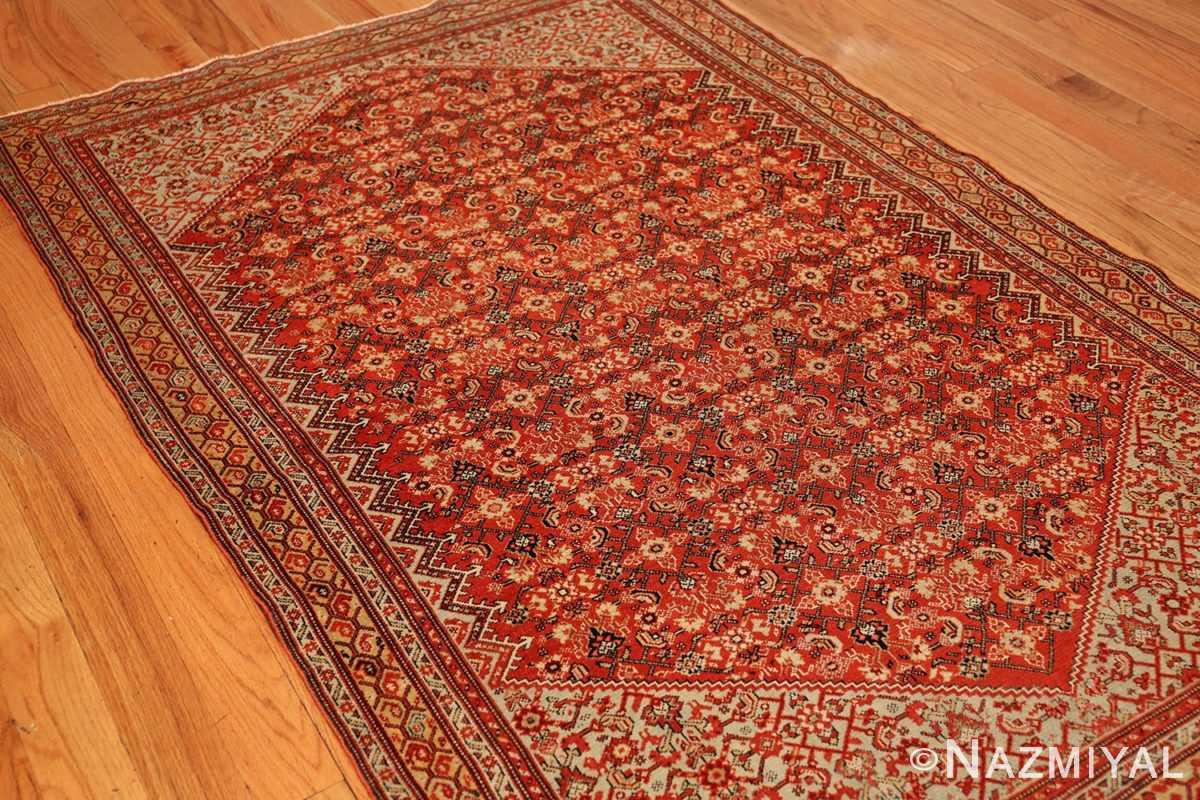 fine antique persian senneh rug 47497 side Nazmiyal