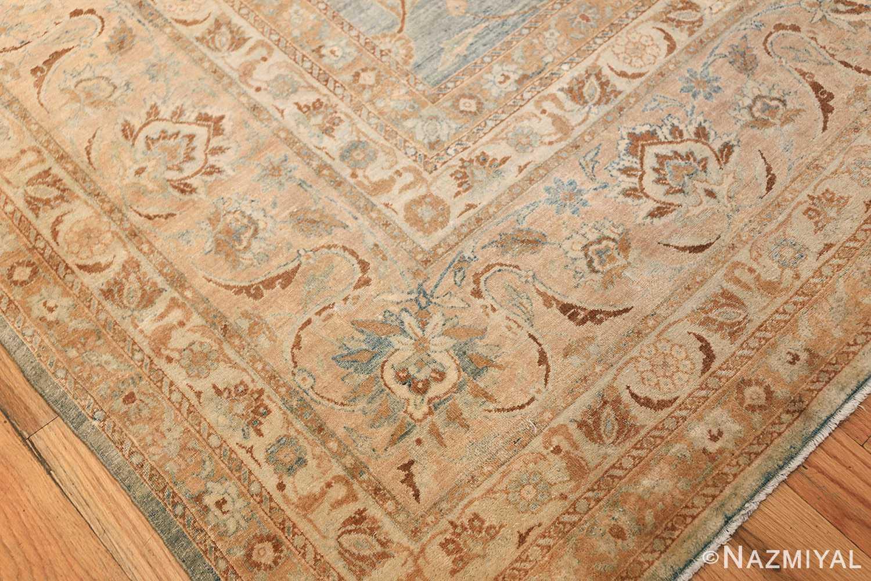Large Antique Sky Blue Persian Kerman Carpet 46979 Design Nazmiyal