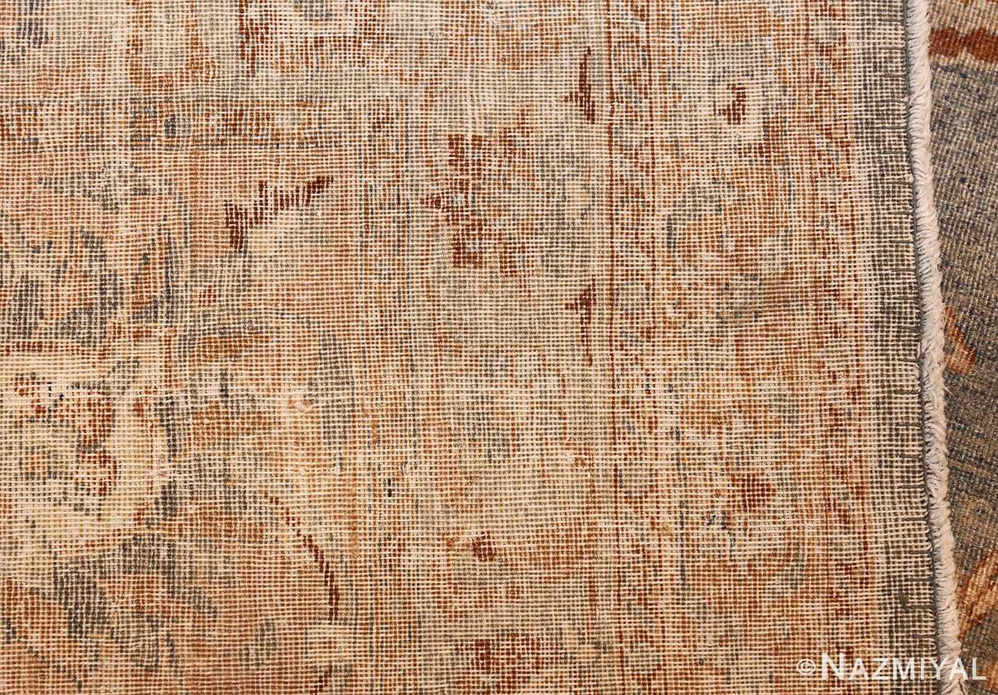 Large Antique Sky Blue Persian Kerman Carpet 46979 Weave Nazmiyal