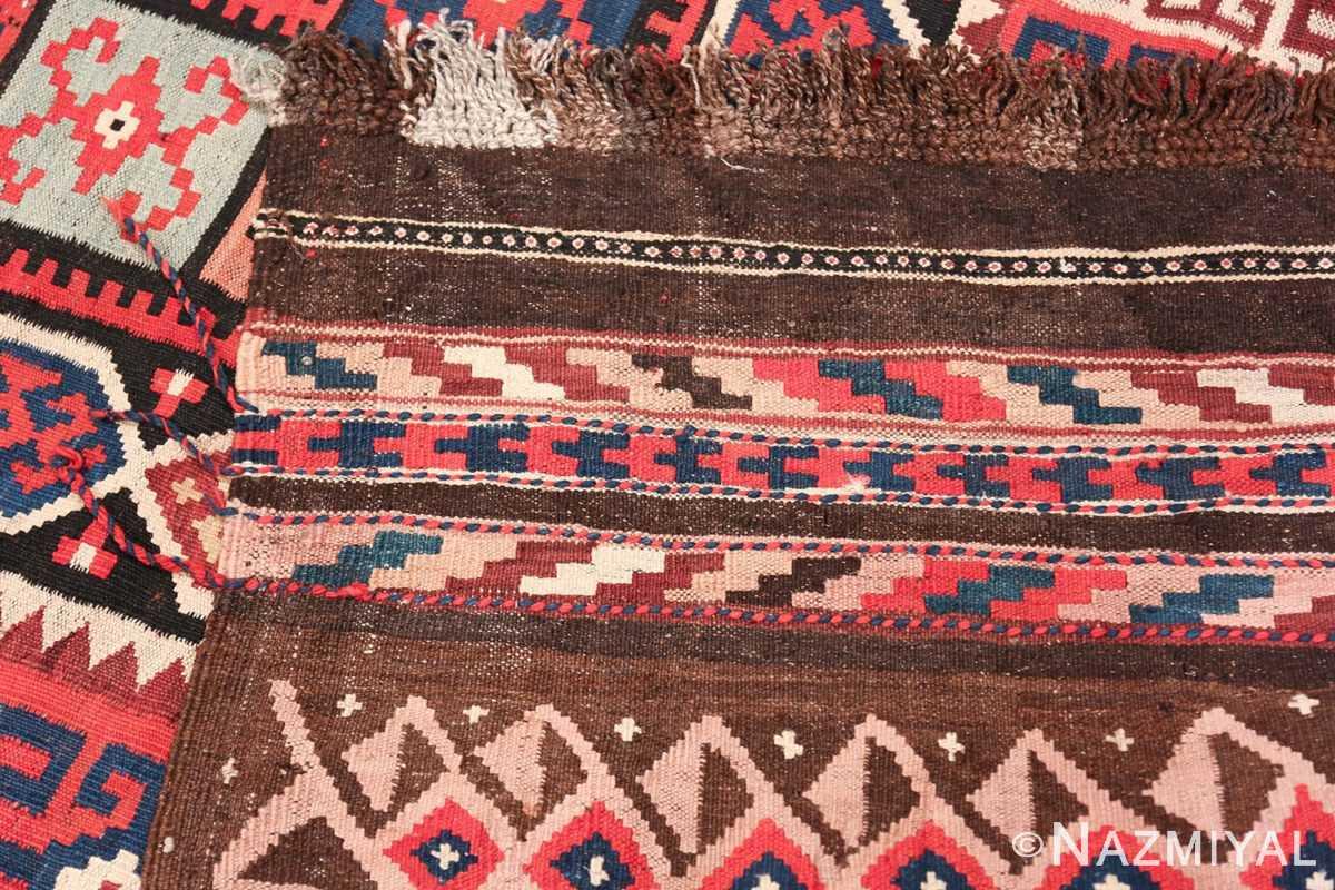 large tribal persian kilim vintage rug 47598 knots Nazmiyal