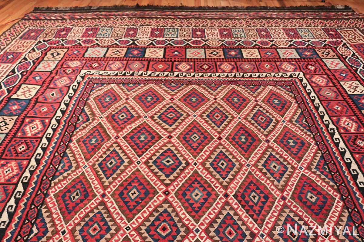 large tribal persian kilim vintage rug 47598 top Nazmiyal