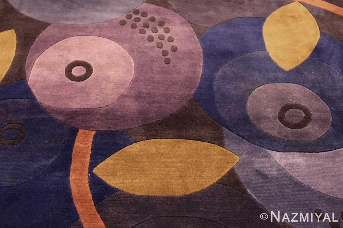 modernist carpet from nepal 47554 circles Nazmiyal