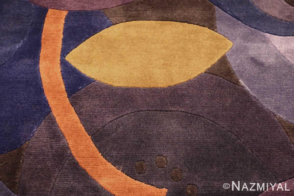 modernist carpet from nepal 47554 leaf Nazmiyal