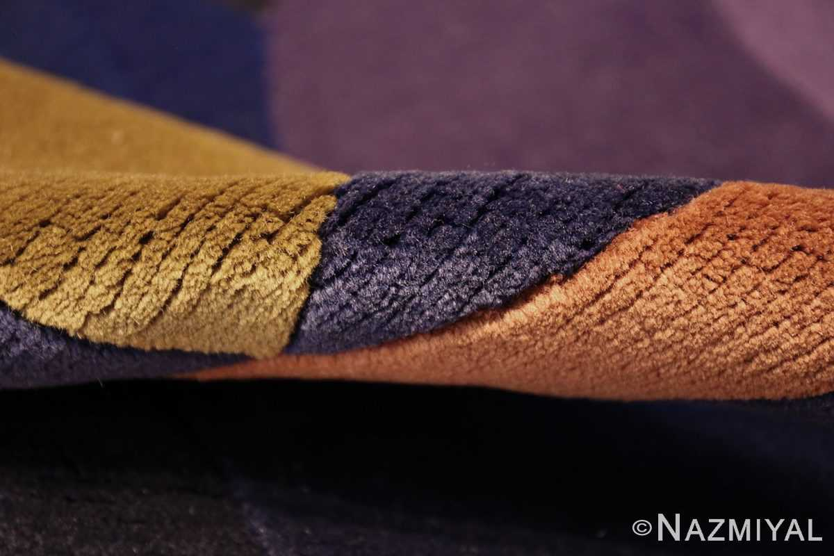 modernist carpet from nepal 47554 pile Nazmiyal
