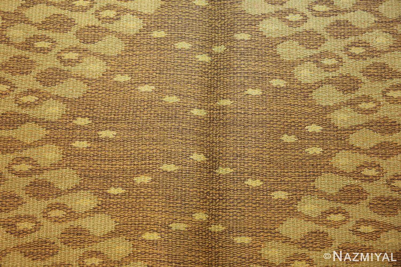 vintage swedish double sided rug 47559 triangle Nazmiyal