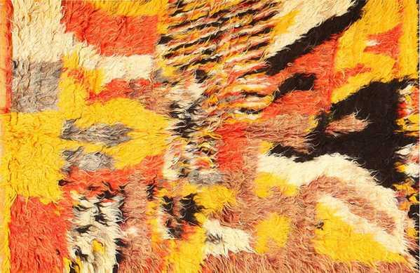 Abstract Textile Art by Nazmiyal