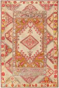 Antique Tribal Turkish Ghiordes Rug 47656 Nazmiyal