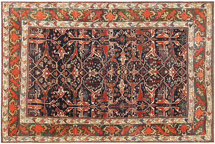 Durable Antique Rugs - Nazmiyal