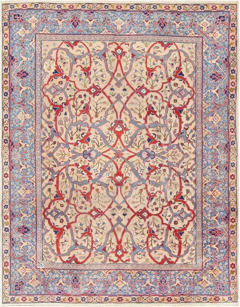 Fine Antique Persian Tabriz Rug 47432 Nazmiyal
