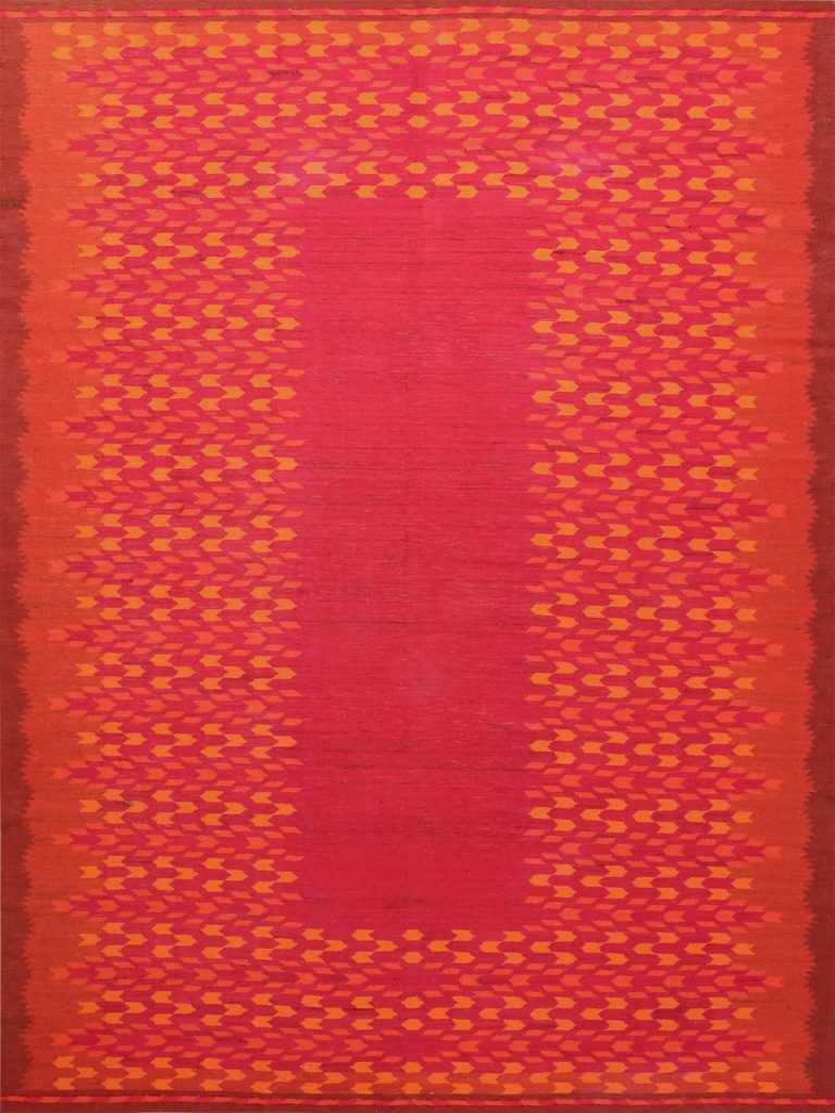 Large Vintage Scandinavian Rug 47528 Nazmiyal