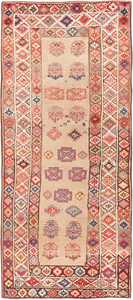 Tribal Caucasian Kazak Rug 47659 Detail/Large View