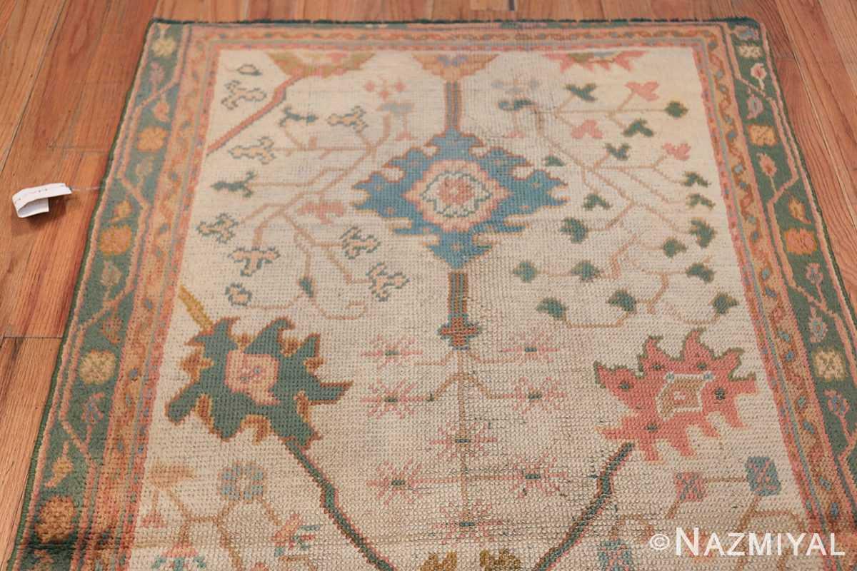Antique Decorative Turkish Oushak Rug 47577 Top Design Nazmiyal