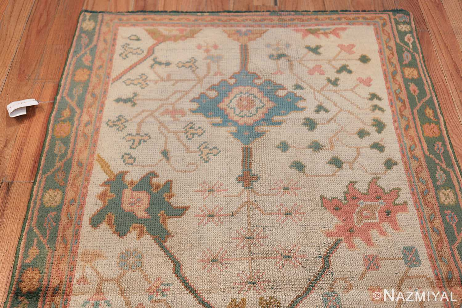 Antique Decorative Turkish Oushak Rug 47577 Top Design Nazmiyal
