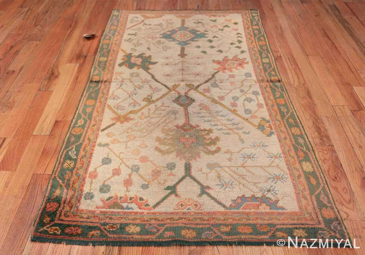 Antique Decorative Turkish Oushak Rug 47577 Whole Design Nazmiyal