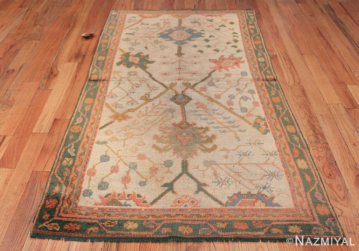 Antique Decorative Turkish Oushak Rug 47577 Whole Design Nazmiyal