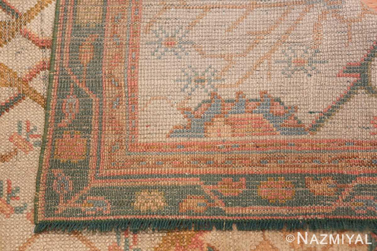 Antique Decorative Turkish Oushak Rug 47577 Woven Design Nazmiyal